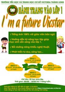 Thông tin khóa hành trang vào lớp 1 – I'm a Future Vicstar