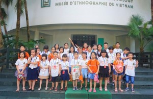 Chuyến tham quan, trải nghiệm thú vị của học sinh Trường TH & THCS Victoria Thăng Long tại Bảo tàng Dân tộc học Việt Nam